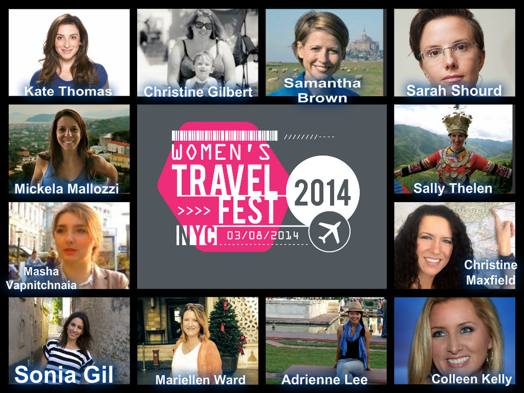 Women's Travel Fest 2014